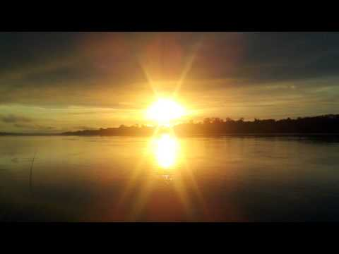 SUNRISE over the AMAZON RIVER in PERU! [HD]