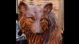 getlinkyoutube.com-CHAINSAW CARVING Ridgway Chainsaw Rendevous 2012.wmv
