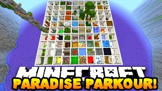getlinkyoutube.com-Minecraft PARADISE PARKOUR! (Over 100 Stages & Hour Long Parkour Map!) w/PrestonPlayz & MrWoofless