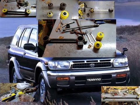 Nissan Terrano R50 подвеска полиуретан
