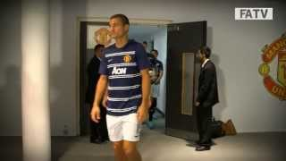 getlinkyoutube.com-Manchester United 2-0 Wigan Athletic - Community Shield 2013 tunnelcam | Inside Access