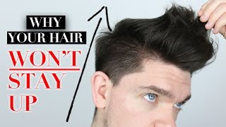 5 Reasons Why Your Hair Won't Stay Up!