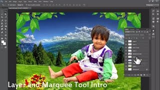 getlinkyoutube.com-#03 Basic Photoshop Layers Intro and Marquee tool