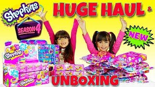 getlinkyoutube.com-SHOPKINS SEASON 4 HUGE HAUL AND UNBOXING