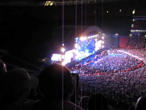 Oasis - Don't Look Back in Anger (Wembley Stadium 11th July 2009)