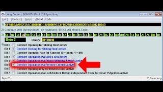 getlinkyoutube.com-Popular Volkswagen Golf VAG-COM Tweaks & Codes