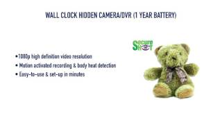 getlinkyoutube.com-Teddy Bear Hidden Camera/DVR from GadgetsAndGear.com