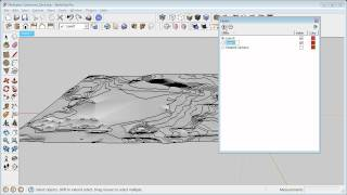 getlinkyoutube.com-Landscape and SketchUp working with Contours Part 4