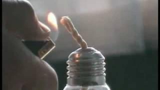 getlinkyoutube.com-как сделать свечку из лампочки.