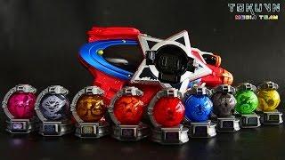getlinkyoutube.com-[TMT][329] DX Seiza Blaster! セイザブラスター! Uchu Sentai Kyuranger! 宇宙戦隊キュウレンジャー