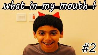 تحدي ايش الي ففمي #2 ! ( جا دوري :( ) | What in my mouth !