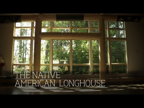 The Native American Longhouse, Eena Haws At Oregon State University