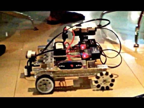 Nigeria robots driving in Africa technology hub!