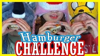 getlinkyoutube.com-HAMBURGER CHALLENGE!!!  |  KITTIESMAMA
