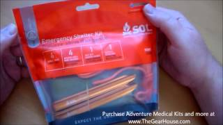 adventure medical kits emergency shelter kit overview by thegearhouse