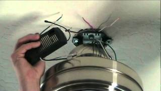 getlinkyoutube.com-How To Install a Ceiling Fan With Remote Control