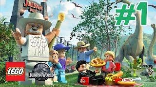 getlinkyoutube.com-Zagrajmy w LEGO Jurassic World odc.1 Park Dinozaurów