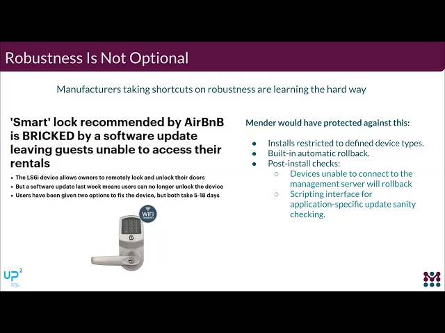 Secure and Robust OTA Updates With UP Squared and Mender