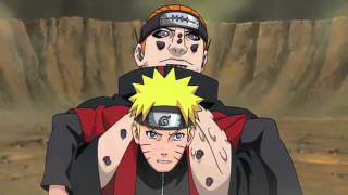 getlinkyoutube.com-Naruto V.S Pain - LinkinPark - New Divide