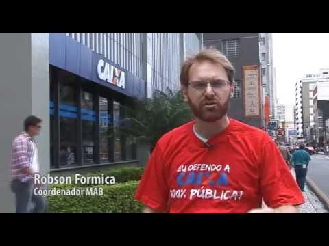 Caixa 100% pública: Robson Formica