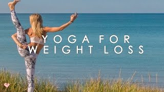 Yoga Workout for Weight Loss ♥ The Waistline Crusher