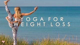 getlinkyoutube.com-Yoga Workout for Weight Loss ♥ The Waistline Crusher