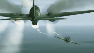 getlinkyoutube.com-Battle of Britain's 70th anniversary in IL-2 Sturmovik 1946 (Horrido 2010)