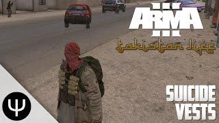 getlinkyoutube.com-ARMA 3: Takistan Life Mod — Suicide Vests!