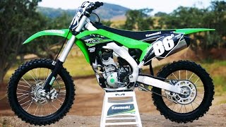 getlinkyoutube.com-First Ride 2017 Kawasaki KX250F - Motocross Action Magazine