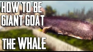 "getlinkyoutube.com-How to be a WHALE ""GIANT GOAT"" in Goat Simulator"