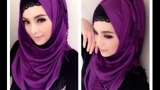 🌟Hijab Tutorial-01🌟 Cara Memakai Jilbab Pashmina Cool Style (Up to date)