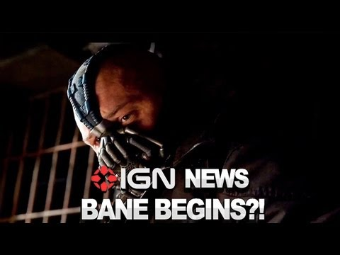 IGN News: Bane's Origin Sequence Cut from Dark Knight Rises