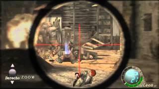 getlinkyoutube.com-Resident evil 4 Modo Imposible Completado Capitulo 1/2
