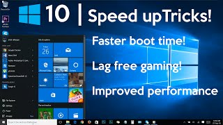 getlinkyoutube.com-How to Speed Up Your Windows 10 Performance (best settings)