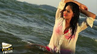 getlinkyoutube.com-Nikesha Patel Beach Photo Shoot