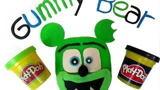 getlinkyoutube.com-Play Doh How To Make Funny Gummy Bear