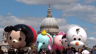 getlinkyoutube.com-Disney Tsum Tsum craze hits London!