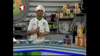 getlinkyoutube.com-Ashpazi - Rot & Fruit Custard Part1                آشپزی - روت  و فرنی میوه ای