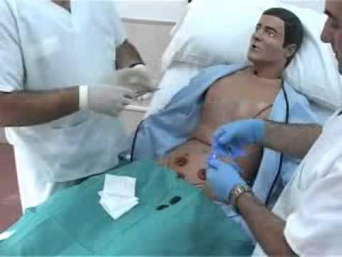 Técnica de cambio de bolsa de colostomía