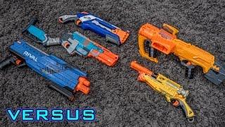 getlinkyoutube.com-[VS] Shotgun Showdown   What is the BEST Nerf Shotgun!?