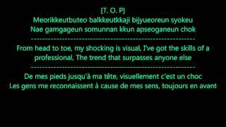 Bigbang fantastic baby - French and English traduction