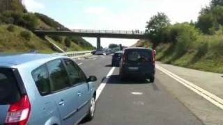 Crash d'un avion sur autoroute A89( version originale)