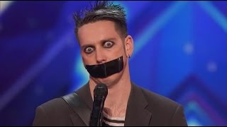 getlinkyoutube.com-Dziwny Śmieszek w amerykańskim Mam Talent (NAPISY PL)