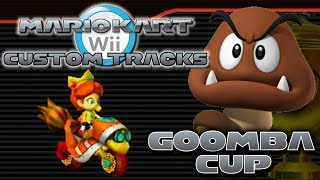 getlinkyoutube.com-Mario Kart Wii Custom Tracks - Goomba Cup