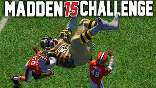 getlinkyoutube.com-Madden NFL 15 Challenge - Can A Giant Player Hurdle A Tiny Player?