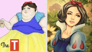 The Amazing Evolution Of The Disney Princess