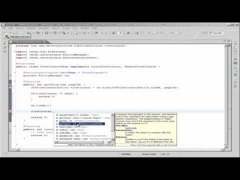 Crash course in Enterprise JavaBeans 3-Part 6: Implementing the Enterprise JavaBean