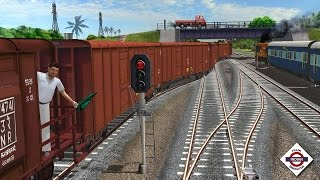 getlinkyoutube.com-Indian Train Simulator 2016 - Gameplay