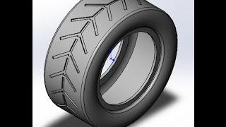 getlinkyoutube.com-solid works   tutorials   How to model car Tire ?