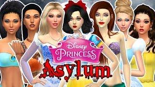 "getlinkyoutube.com-Let's Play the Sims 4: Disney Princess Asylum Challenge Episode 1 ""Intro & Rules"""